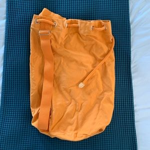 J Crew Orange duffle bag